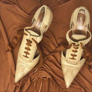 YSL Yves Saint Laurent Pump Cap Stiletto Heels